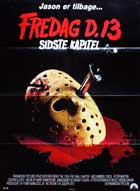 Friday the 13th, Part 4: The Final Chapter - 27 x 40 Movie Poster - Danish Style A