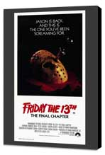 Friday the 13th, Part 4: The Final Chapter - 11 x 17 Movie Poster - Australian Style A - Museum Wrapped Canvas