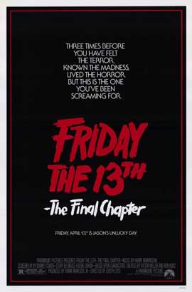 Friday the 13th, Part 4: The Final Chapter - 11 x 17 Movie Poster - Style A
