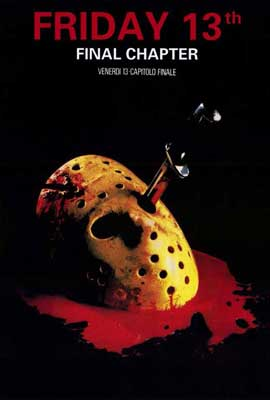 Friday the 13th, Part 4: The Final Chapter - 27 x 40 Movie Poster - Italian Style A