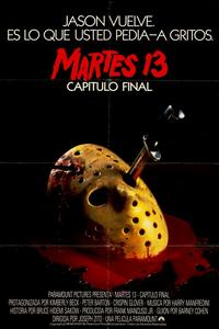 Friday the 13th, Part 4: The Final Chapter - 11 x 17 Movie Poster - Spanish Style A