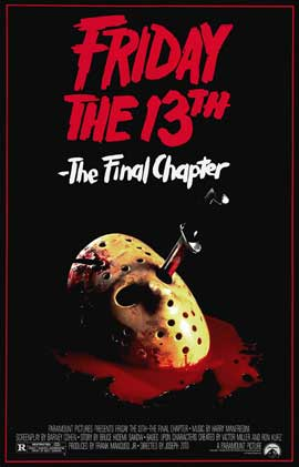 Friday the 13th, Part 4: The Final Chapter - 27 x 40 Movie Poster - Style B
