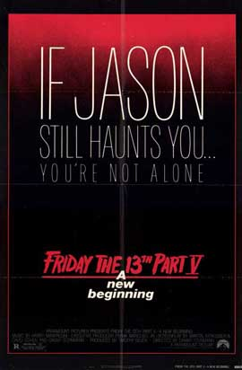 Friday the 13th, Part 5: A New Beginning - 11 x 17 Movie Poster - Style A