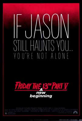 Friday the 13th, Part 5: A New Beginning - 27 x 40 Movie Poster - Style A