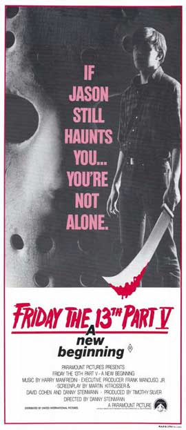 Friday the 13th, Part 5: A New Beginning - 13 x 30 Movie Poster - Australian Style A