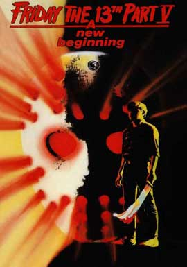 Friday the 13th, Part 5: A New Beginning - 11 x 17 Movie Poster - Style B