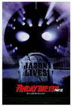 Friday the 13th, Part 6: Jason Lives - 27 x 40 Movie Poster - Style A