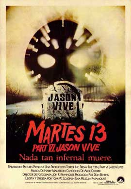 Friday the 13th, Part 6: Jason Lives - 11 x 17 Movie Poster - Spanish Style A