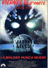 Friday the 13th, Part 6: Jason Lives - 11 x 17 Movie Poster - Spanish Style B