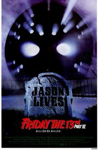 Friday the 13th, Part 6: Jason Lives - 11 x 17 Movie Poster - Style A - Museum Wrapped Canvas