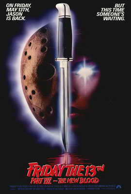 Friday the 13th, Part 7: The New Blood - 27 x 40 Movie Poster - Style A