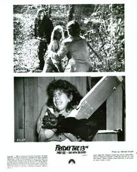 Friday the 13th, Part 7: The New Blood - 8 x 10 B&W Photo #3