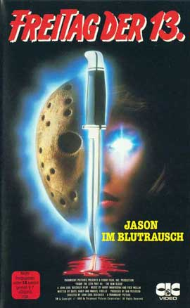 Friday the 13th, Part 7: The New Blood - 27 x 40 Movie Poster - German Style A
