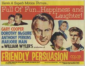 Friendly Persuasion - 11 x 14 Movie Poster - Style A