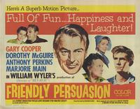 Friendly Persuasion - 27 x 40 Movie Poster - Style A