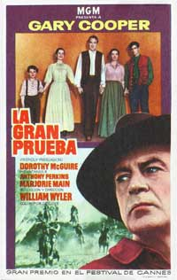 Friendly Persuasion - 11 x 17 Movie Poster - Spanish Style B