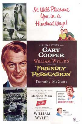 Friendly Persuasion - 11 x 17 Movie Poster - Style A