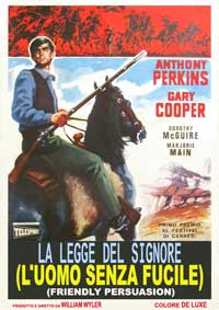 Friendly Persuasion - 11 x 17 Movie Poster - Italian Style A
