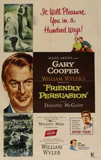 Friendly Persuasion - 11 x 17 Movie Poster - Style B