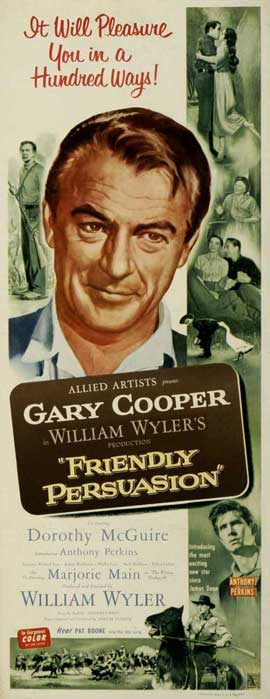 Friendly Persuasion - 14 x 36 Movie Poster - Insert Style A