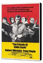 Friends of Eddie Coyle - 27 x 40 Movie Poster - Style A - Museum Wrapped Canvas