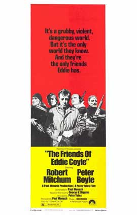 Friends of Eddie Coyle - 11 x 17 Movie Poster - Style B