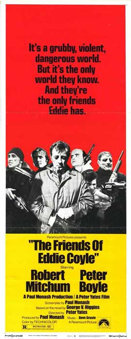 Friends of Eddie Coyle - 14 x 36 Movie Poster - Insert Style A