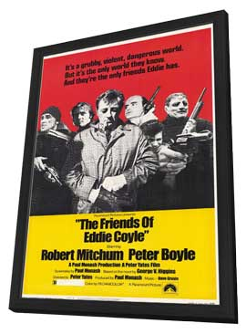 Friends of Eddie Coyle - 11 x 17 Movie Poster - Style A - in Deluxe Wood Frame