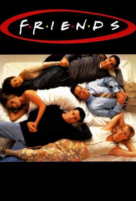 Friends (TV) - 27 x 40 TV Poster - Style G