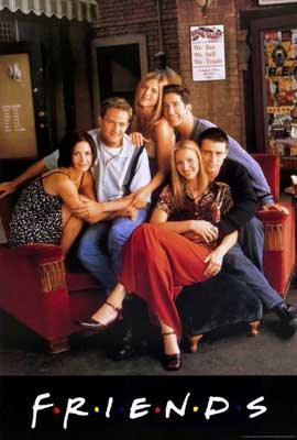 Friends (TV) - 27 x 40 TV Poster - Style A