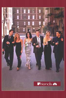 Friends (TV) - 27 x 40 TV Poster - Style C