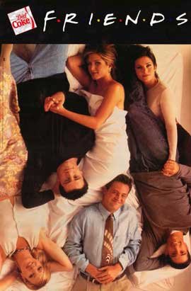 Friends (TV) - 27 x 40 TV Poster - Style D
