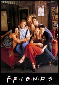 Friends (TV) - 43 x 62 TV Poster - Style B