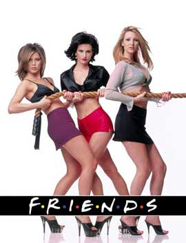 Friends (TV) - 11 x 17 TV Poster - Style K