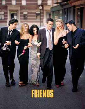 Friends (TV) - 11 x 17 TV Poster - Style L