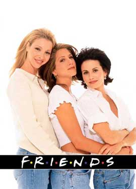 Friends (TV) - 27 x 40 TV Poster - Style F