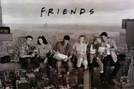 Friends (TV) - TV Poster - 24 x 36 - Style A