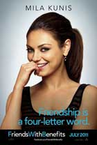 Friends with Benefits - 11 x 17 Movie Poster - Style D