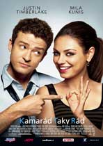 Friends with Benefits - 11 x 17 Movie Poster - Czchecoslovakian Style A