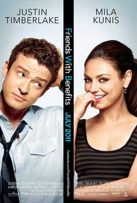 Friends with Benefits - 27 x 40 Movie Poster - Style A