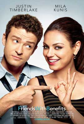 Friends with Benefits - 27 x 40 Movie Poster - Style B