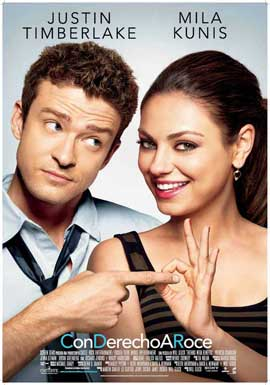 Friends with Benefits - 11 x 17 Movie Poster - Spanish Style A