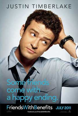 Friends with Benefits - 11 x 17 Movie Poster - Style C