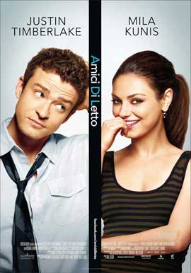 Friends with Benefits - 11 x 17 Movie Poster - Italian Style A