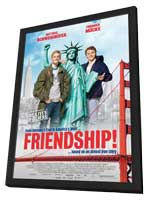 Friendship - 11 x 17 Movie Poster - UK Style A - in Deluxe Wood Frame