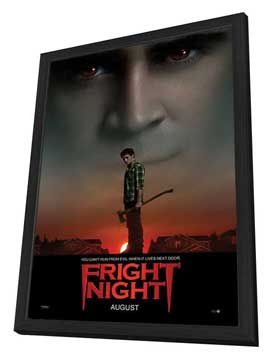 Fright Night - 27 x 40 Movie Poster - Style A - in Deluxe Wood Frame
