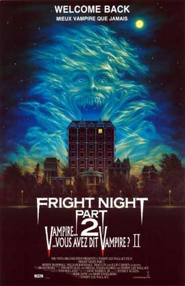 Fright Night Part II - 11 x 17 Movie Poster - Belgian Style A