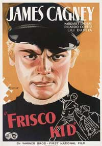 Frisco Kid - 11 x 17 Movie Poster - Swedish Style A