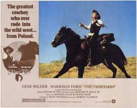 The Frisco Kid - 11 x 14 Movie Poster - Style B