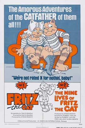 Fritz the Cat - 11 x 17 Movie Poster - Style C